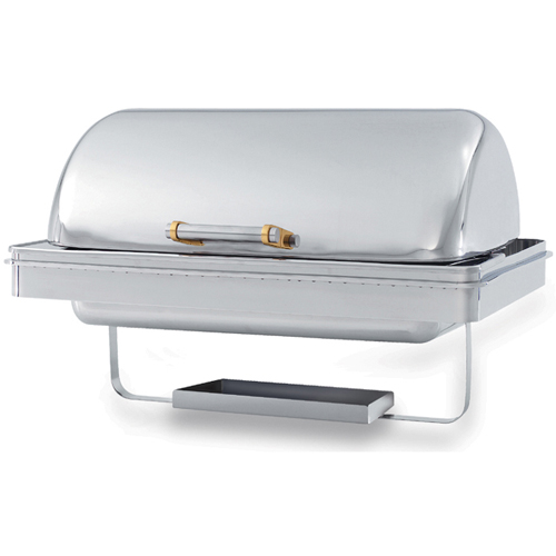 Amazing Vollrath Chafing Dish qt Rectangular Dripless Water Pan Dome Cover Product Photo