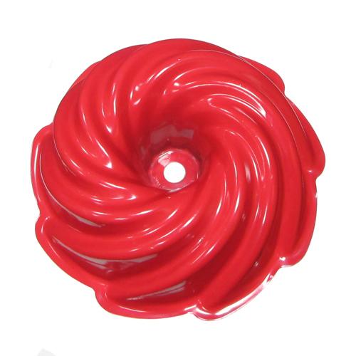 Nordicware 10-Cup Heritage Bundt Cake Pan, Red 50222RD