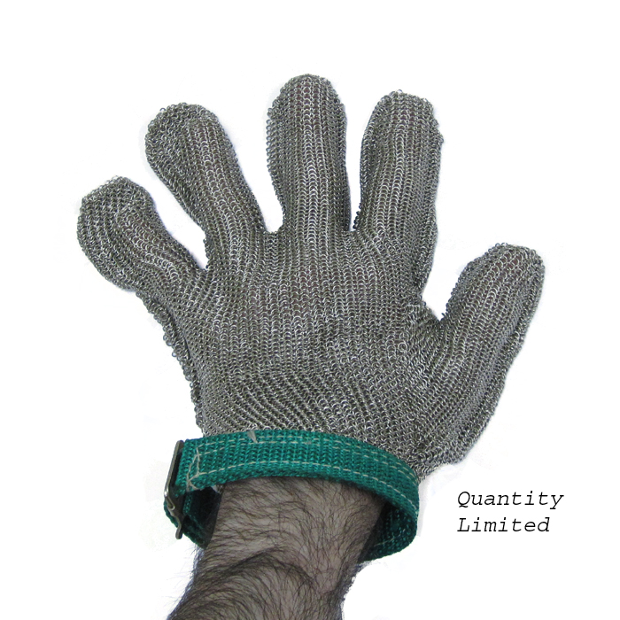 Stainless Steel Mesh Glove, Extra Large