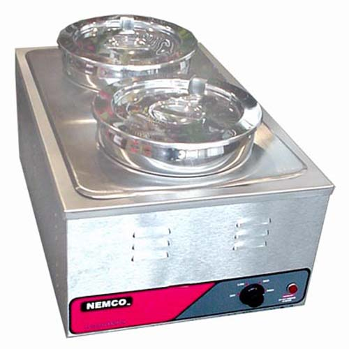 Nemco Food / Soup Warmer 6055A w/Accessories 6055A