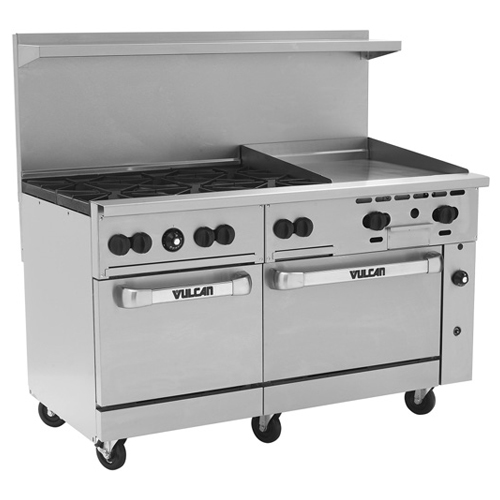 Vulcan-Endurance-Gas-Range-Burners-Manual-Griddle-Broiler-Propan Product Image 14