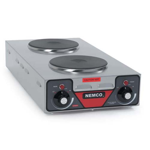 Nemco-Hot-Plate-Double-Burner-Vertical-Model Product Image 2320