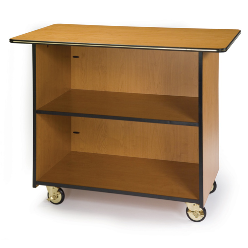 Geneva-Enclosed-Service-Cart-Fixed-Shelf Product Image 1071