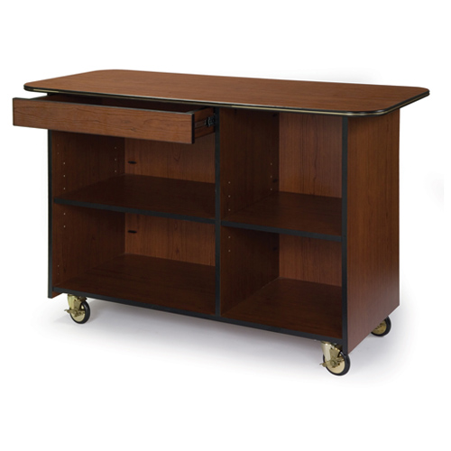Geneva-Large-Enclosed-Service-Cart-Drawer-Top-Left Product Image 904