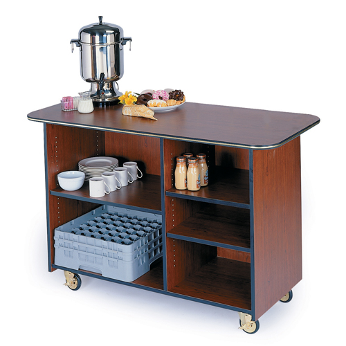 Geneva-Large-Enclosed-Service-Cart-Right-Left-Adjustable-Shelves Product Image 901