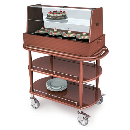 Geneva-Pastry-Cart-Double-Shelf Product Image 734