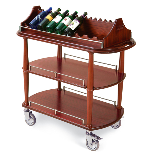 Geneva-Wine-Cart-Oval-Shelf Product Image 1071