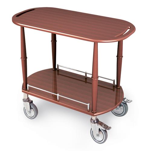 Geneva-Serving-Cart-Oval-Shelf Product Image 1393