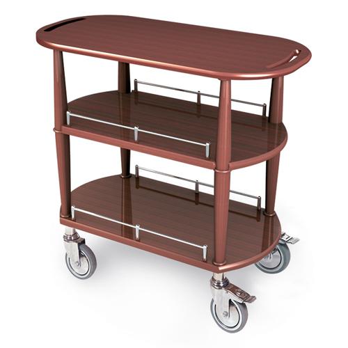 Geneva-Serving-Cart-Oval-Shelves Product Image 1379