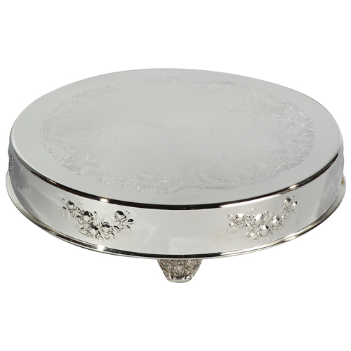 Eastern-Tabletop-Silverplated-Decorative-Cake-Stand Product Image 4505
