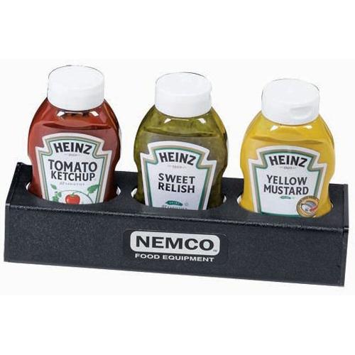 Nemco 88500-CO6 3-Bottle Sauce Organizer 88500-CO6