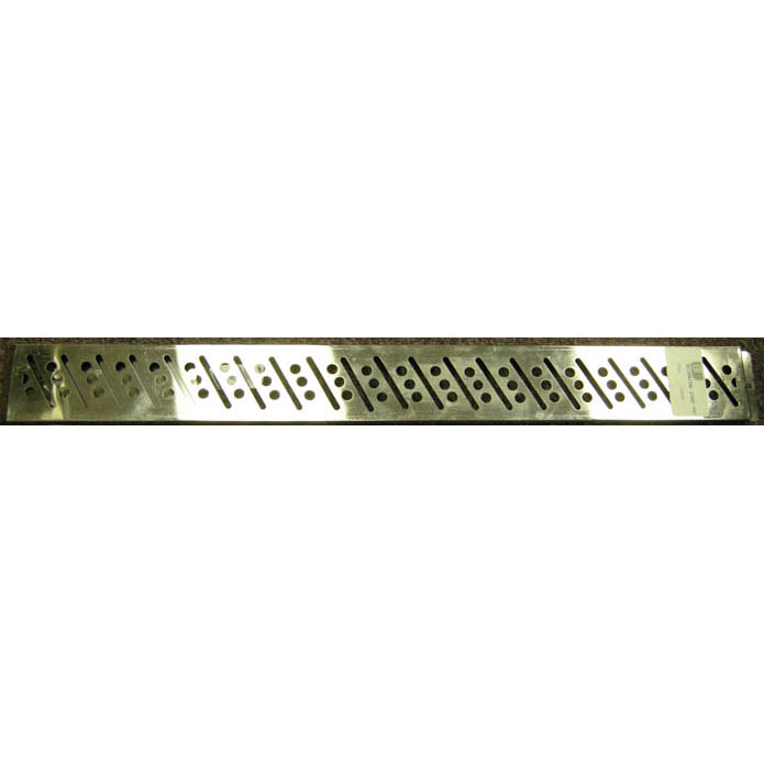 De Buyer Stainless Steel Decorating Strip, Bar & Circles Design 94031