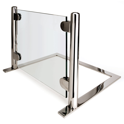 Eastern-Tabletop-Heavy-Duty-Chrome-Tempered-Glass-Sneezeguard Product Image 1340
