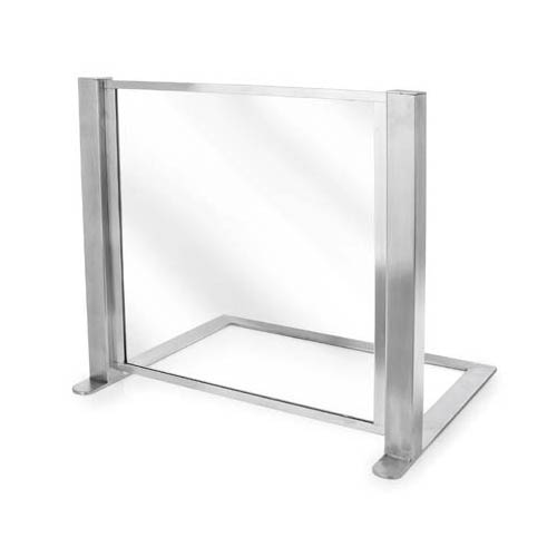 Eastern-Tabletop-Heavy-Duty-Satin-Tempered-Glass-Sneeze-Guard Product Image 1346