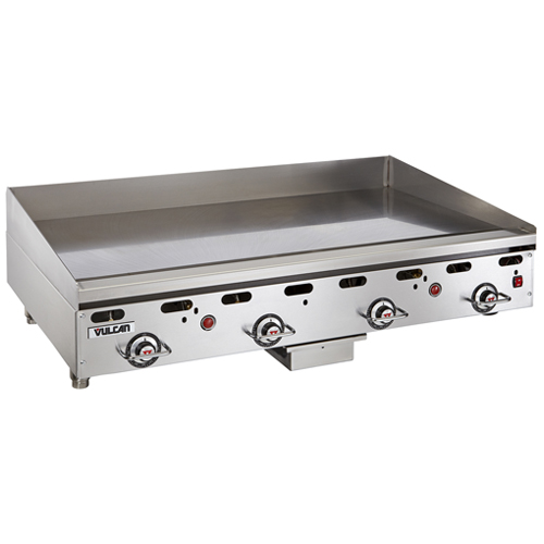 "Vulcan 900RX Series Heavy Duty Gas Griddle - 72"" W x 30"" Griddle Plate 972RX-30"