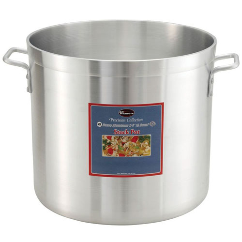 "Winco Stock Pot, Precision Extra Heavy Aluminum Size: 120 Quart, 22-1/2"" Diameter ALHP-120"