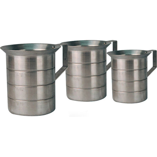 Winco Aluminum Measurement Cups - 1 Quart AM-1