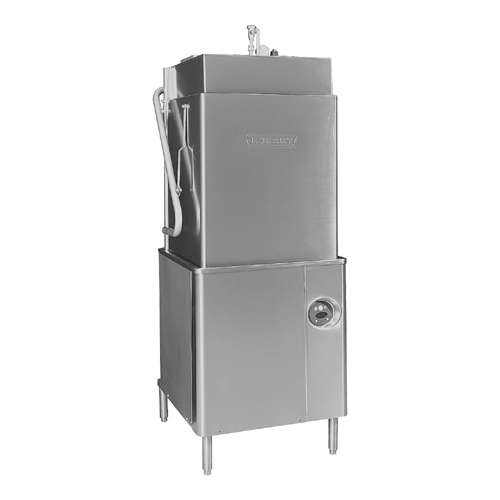 Hobart Tall Chamber Door Type Dishwasher Booster v Product Photo