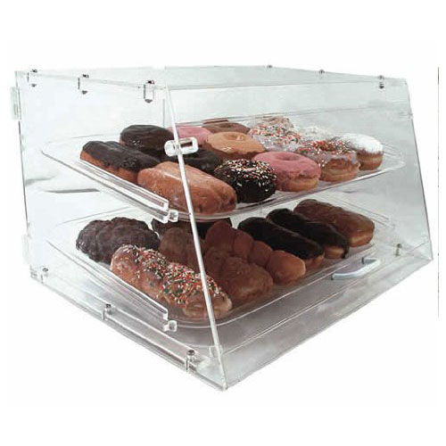 Update International Acrylic Display Case Tray Front Rear Doors Product Photo