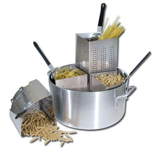 Winware by Winco Aluminum Pasta Cooker, 20