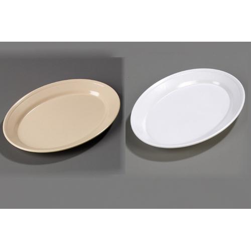 Popular Carlisle Rimmed Melamine Dinnerware Oval Platter Recommended Item