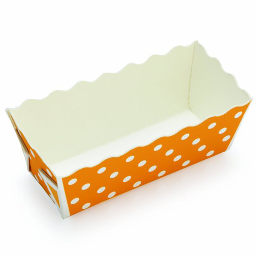 Welcome-Brands-Disposable-Polka-Dot-Paper-Mini-Loaf Product Image 5324