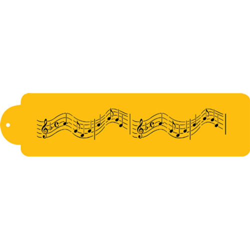 "Designer Stencils Decorating Stencil, Musical Notes Border 12"" C128T"