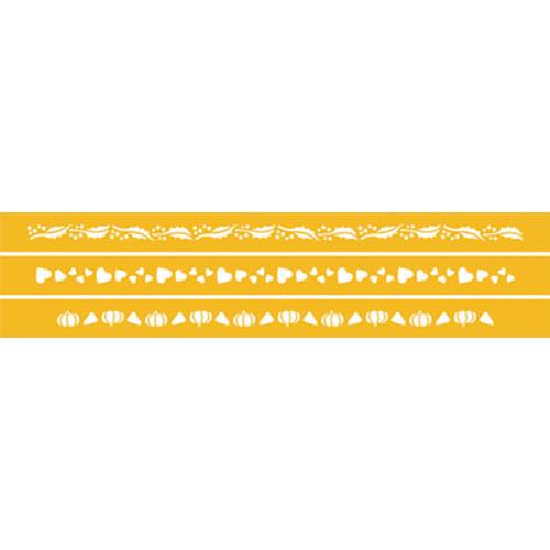 Designer Stencils Decorating Stencil, Seasonal Ribbons C231