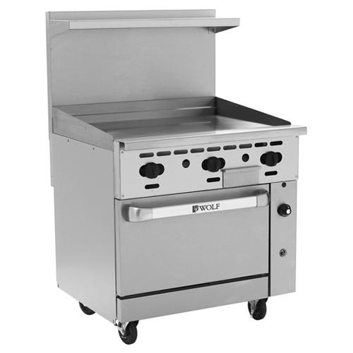 Wolf Challenger Gas Range Griddle Propane Gas Product Photo