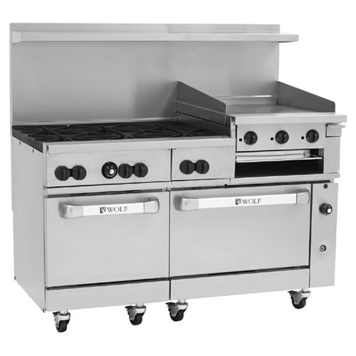New Wolf C sc b gb Challenger Gas Range Burners Manual Griddle Broiler Propane Gas Product Photo