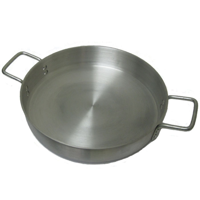Cooking-Aid Aluminum Saute Pan, Made in USA - 6 Quart