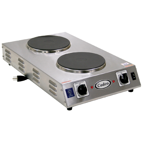Cadco CDR-2CFB 2-Burner Hot Plate