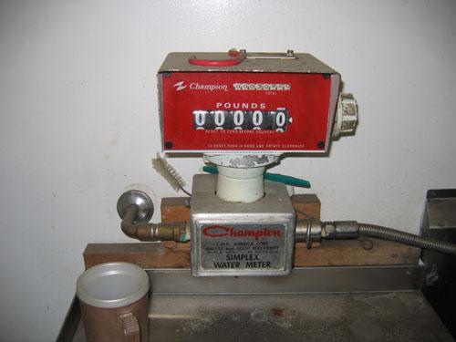 Simplex Digital Water Meter Model SDWM Used
