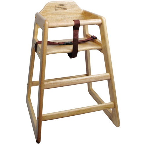 Winware-Winco-Chh-A-Assembled-Natural-Wood-High-Chair Product Image 2477