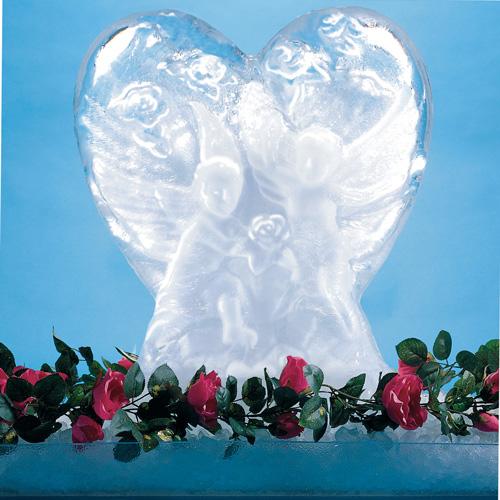 Carlisle Ice Sculpture Heart Mold - SHR102