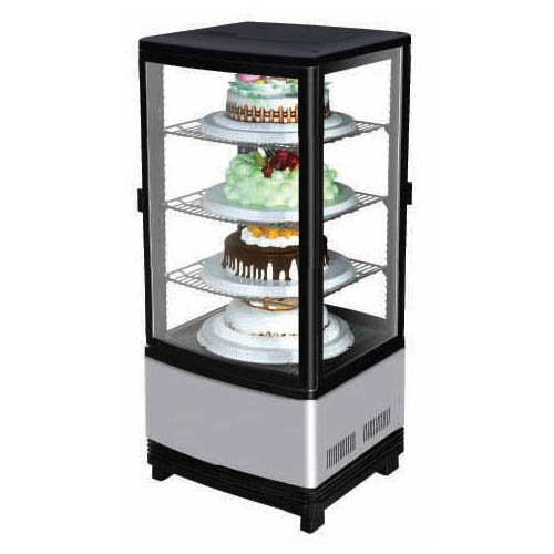 Turbo Air Countertop Diamond Pass Thru Show Case Cu Ft Product Photo