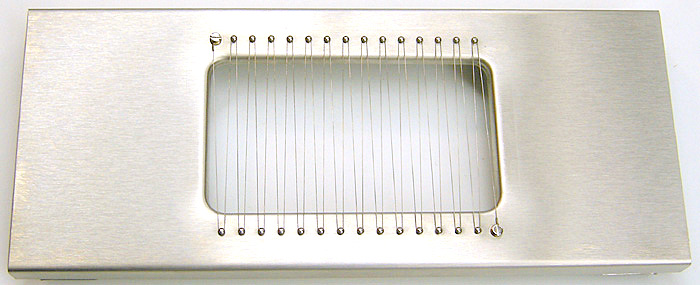 Manual Cheese Slicer / Curd Cutter, Stainless Wires, Stainless Frame, Commercial Grade