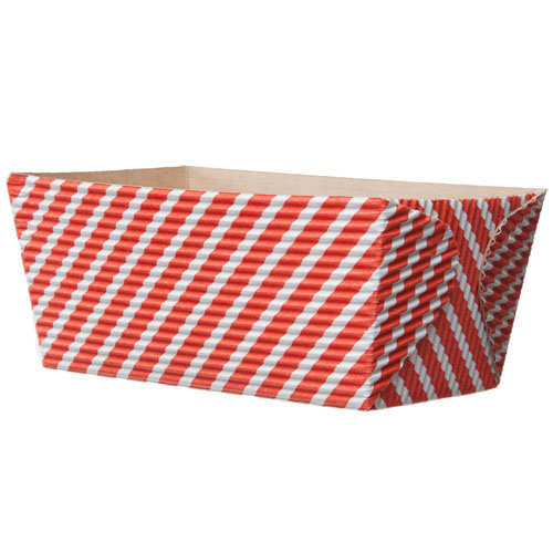 Welcome-Brands-Tangerine-Stripe-Loaf-Paper-Baking-Pan-Capacity Product Image 4862