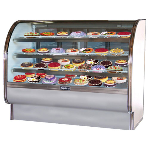 Splendid Leader Curved Glass Bakery Case Self Contained Product Photo