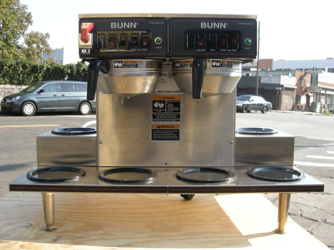 Bunn Coffee Brewer Model # CWTF 0/6 Used Condition