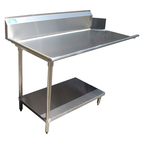 Select All Stainless Steel Clean Dishtable Undershelf Left Product Photo