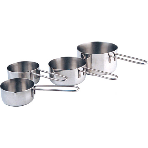 Measuring Cups Stainless Steel, Set of 4 Cups DMC-4