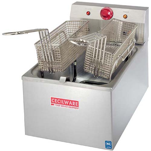 Cecilware Countertop Electric Fryer Heavy Duty High Product Photo