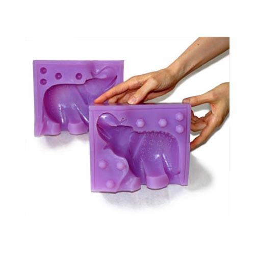 Artisan-Silicone-Sugar-Mold-Zanzibar-Elephant