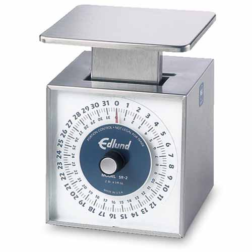 "Edlund ""Premier"" Series Stainless Portion Scale: 32 oz. capacity x 1/4 oz. SR-2"