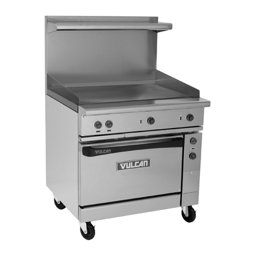 Vulcan Ev s g Electric Restaurant Range Griddle v Product Photo