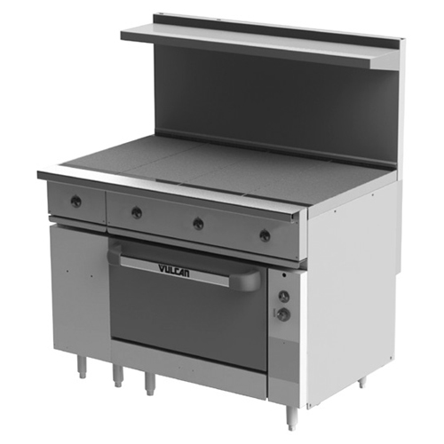Longstanding Vulcan Ev s ht Electric Restaurant Range Hot Tops v Product Photo