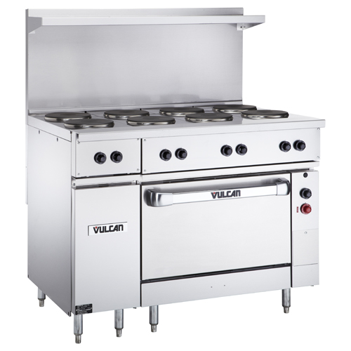 Best-selling Vulcan Ev s fp Electric Restaurant Range French Plates v Product Photo