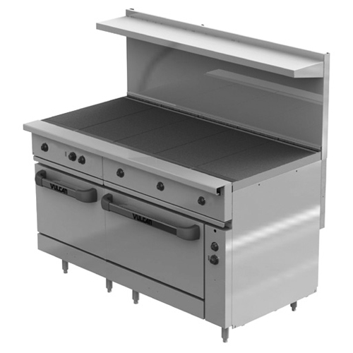 Vulcan Ev ss ht Electric Restaurant Range Hot Tops Ovens v Product Photo