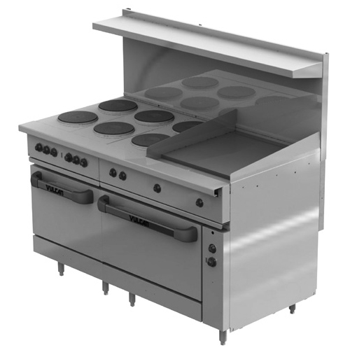 Vulcan-Electric-Restaurant-Range-Face-Plates-Griddle-Ovens-v Product Image 125